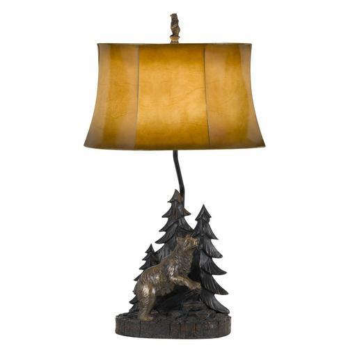 Cal Lighting & Accessories - Cal Lighting BO-2733TB Adirondack Lamp