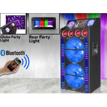 "See Details - 10,000 Watt Dual 15"" LED Speaker System"