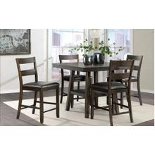 Laredo Counter Table and 4 Stools