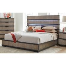 LIFESTYLE C8449A-GPT C8449A-GXG C8449A-BXN Brock Forge Platform King Bed