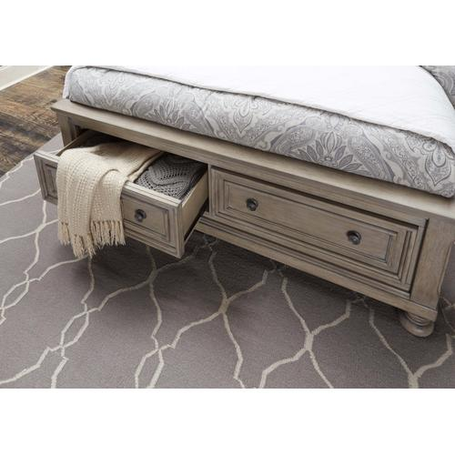 HOMELEGANCE 2259GY5-GY6-1QHB-2QFB-3QKR Bethel 3-Piece Bedroom Group - Queen Bed, Dresser & Mirror