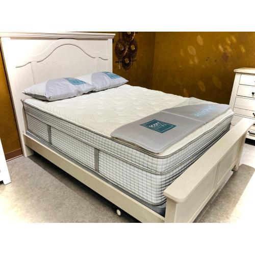 Restonic - Scott Living - Ambiance - Euro Top - Queen Set (Mattress/Boxspring only)   FLOOR SAMPLE - CLEARANCE   (84982ID#12875)