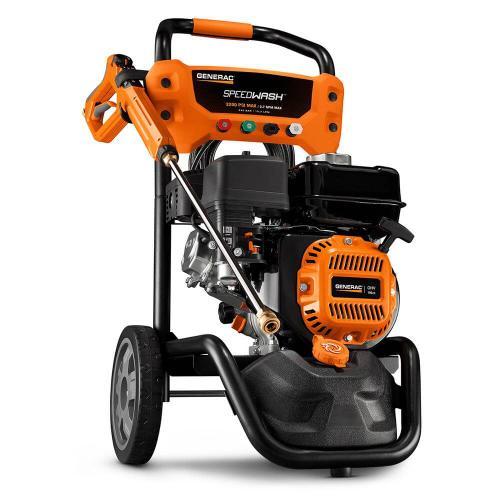 3200 psi 2.7 GPM OHV Engine Axial Cam Pump Gas Pressure Washer Speedwash