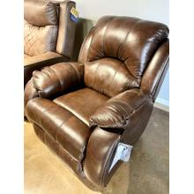 See Details - Leather Rocker Recliner w/ Power Plus in Valentino Chocolate