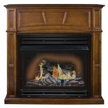 WORLD HEATER GFD3281E The Savannah Remote Controlled Vent Free Gas Fireplace, 30,000 Btu