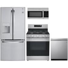 View Product - LG 4 piece stainless steel kitchen  appliance package