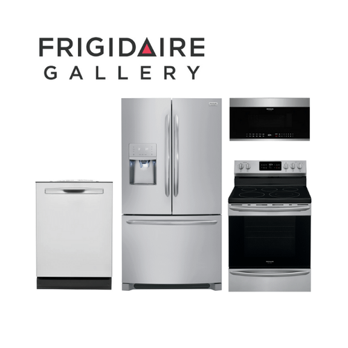 Packages - Frigidaire Gallery 4 Piece Stainless Steel Kitchen Package