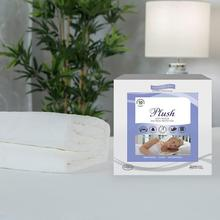Plush Velour Waterproof Mattress Pad Protector