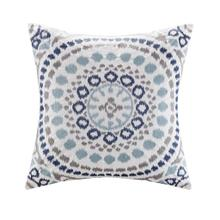 Grace Cotton Embroidered Square Pillow