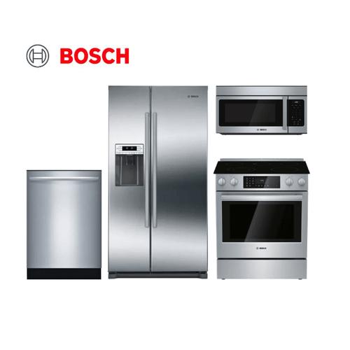 Bosch 4 Piece Stainless Steel Kitchen Package