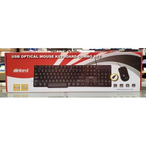 USB Optical Mouse Keyboard Combo Set