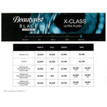 Beautyrest Black Hybrid - X-Class - Ultra Plush - Queen