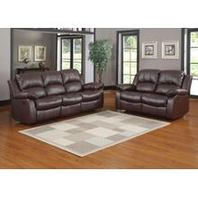 Cranley- Brown Reclining Sofa and Loveseat