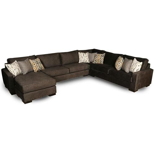 Intermountain Furniture Company - ALTON GULL 4PC SECTIONAL