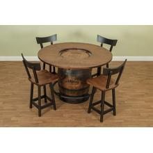 Barrel Table Set