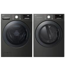 LG 4.5 cu. ft. Smart FrontLoad Washer with TurboWash & 7.4 cu. ft. Smart Electric Dryer with TurboSteam