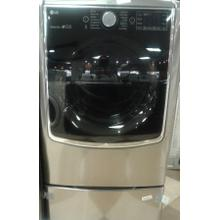 9.0 cu. ft. Large Smart wi-fi Enabled Gas Dryer w/ TurboSteam