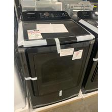 7.4 cu. ft. Electric Dryer with Steam Sanitize  in Black Stainless Steel**OPEN BOX ITEM** Ankeny Location