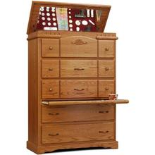 Product Image - Vintage Flip Chest w/ Pull Tray 5 Drawer