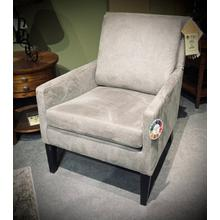 Leigha Club Chair in Granite/Espresso        (2100E-24104,27970)
