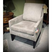 See Details - Leigha Club Chair in Granite/Espresso        (2100E-24104,27970)