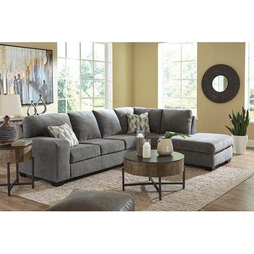 Dalhart Charcoal 2 Piece Sectional
