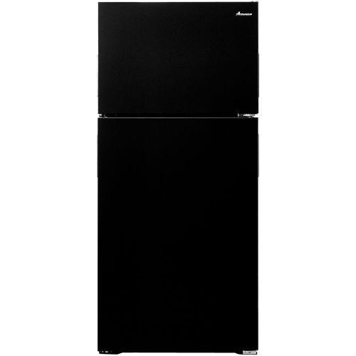 Amana 14.3CF Black Top Mount Refrigerator