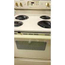 USED- Magic Chef® Electric 30 in. Free Standing Range- E30BISCOIL-U SERIAL #14
