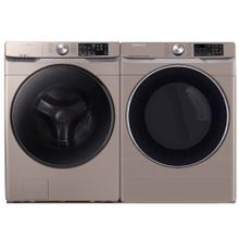 See Details - SAMSUNG 4.5 cu. ft. Front Load Washer & 7.5 cu. ft. Smart Electric Dryer - Open Box