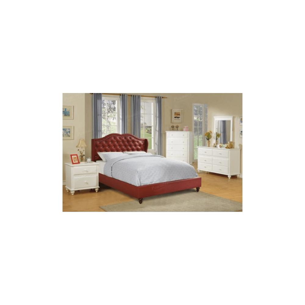 4Pc Full Bed Set