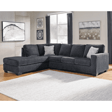 Altari - Slate - 2-Piece Sectional with Left Facing Chaise and Full Sleeper