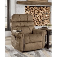 See Details - Mopton Power Lift Recliner - Saddle