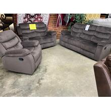 See Details - Reclining Sofa, Loveseat, and Recliner
