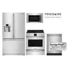 Professional Smudge-Proof Stainless Kitchen Package with French Door