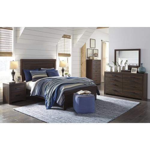 Ashley Furniture - Ashley Furniture B071 Arkaline - Brown Bedroom Set Houston Texas USA.