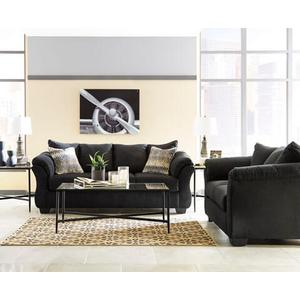Darcy- Black Sofa and Loveseat