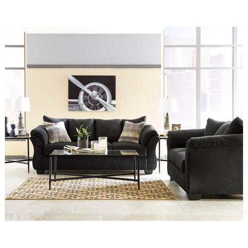 Darcy- Black Sofa and Loveseat