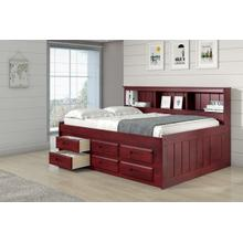 Full Roomsaver Bed with Storage Drawers