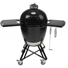 All-In-One Kamado Round Black  280 Sq. In. Cooking Surface