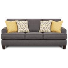 Stationary Sofa in Maxwell Gray Fabric