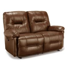 Zaynah  Saddle Leather Match Power Reclining Loveseat