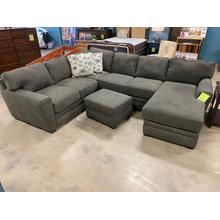 Gray Sectional by England Furniture