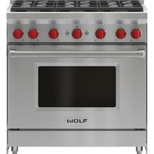 36'' Gas Range - 6 Burners