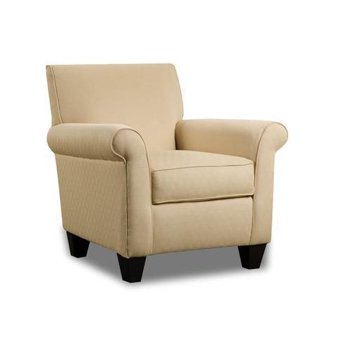 Corinthian - CORINTHIAN AC847J  Hammertime Seal Remsen Butternut Accent Chair
