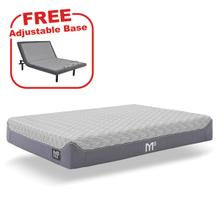 See Details - Buy the BEDGEAR M3 Launchpad Queen Mattress, get a FREE Adjustable Base