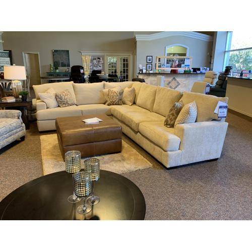 LIFT FLAX Sectional in Elegant Harvest