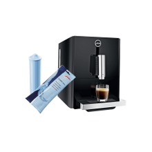 Jura A1 Stainless Steel Automatic Coffee Machine Set with CLEARYL Blue Water Filter