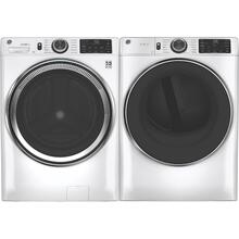 See Details - GE 4.8 Cubic Foot Front Load Laundry Set in White