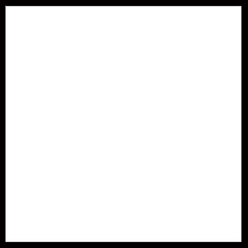 Plain Bench 2' White