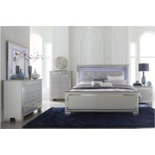 View Product - Allura - Queen Size Bed, Dresser, Mirror, and Nightstand